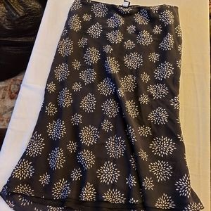 The Limited Silk size 14 silk skirt